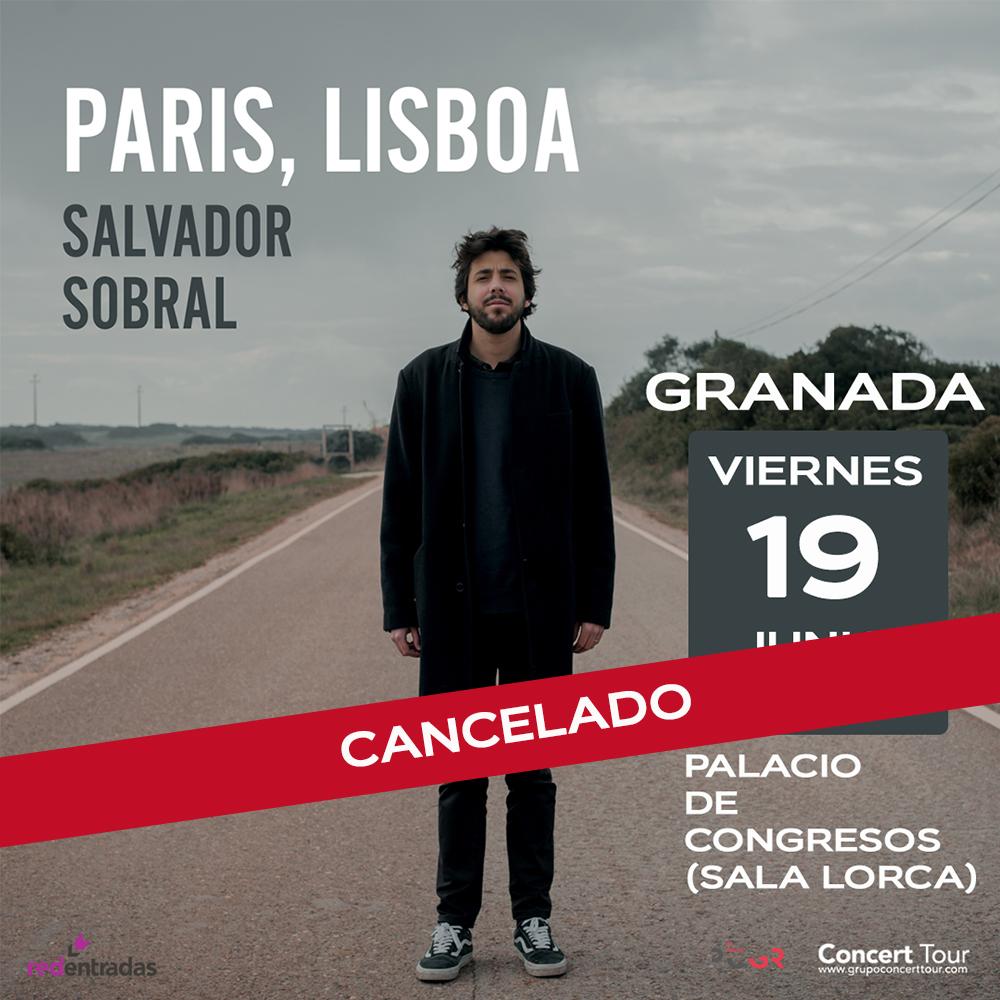 Cancelado el concierto de Salvador Sobral en Granada