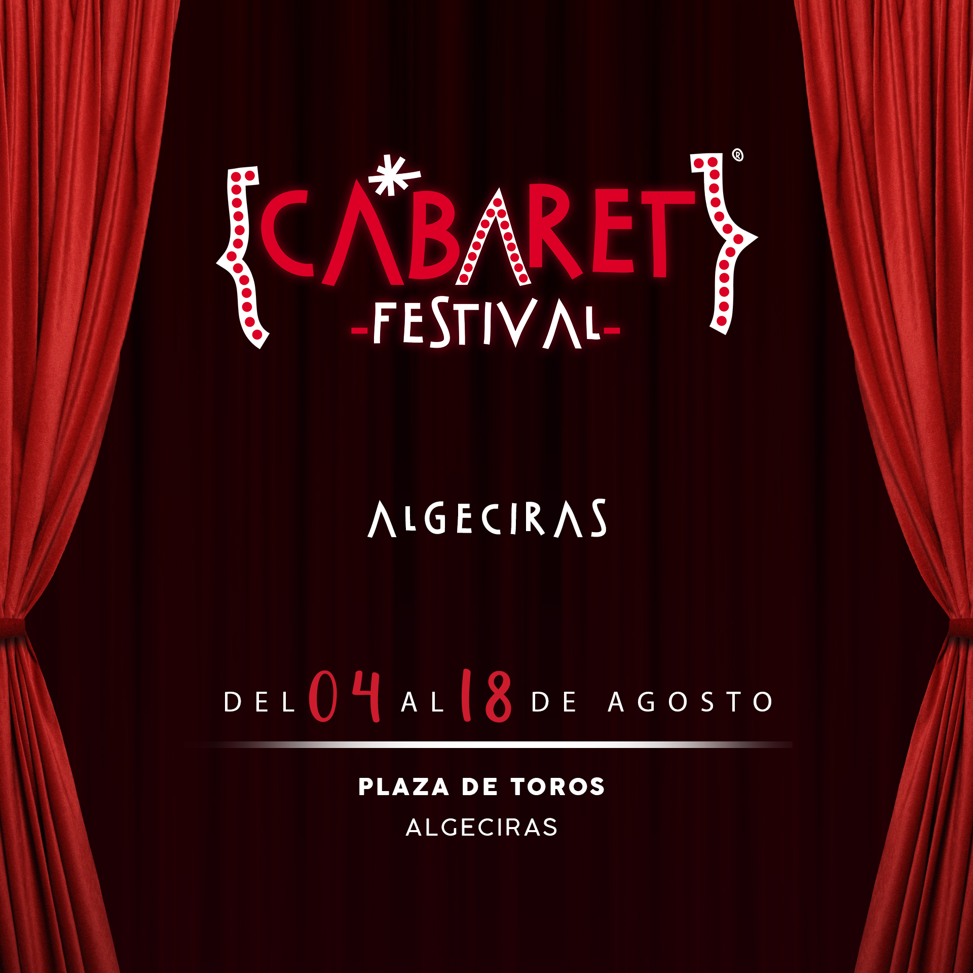 La Plaza de Toros de Algeciras acoge durante este mes de agosto un espectacular ciclo de conciertos dentro de Cabaret Festival.