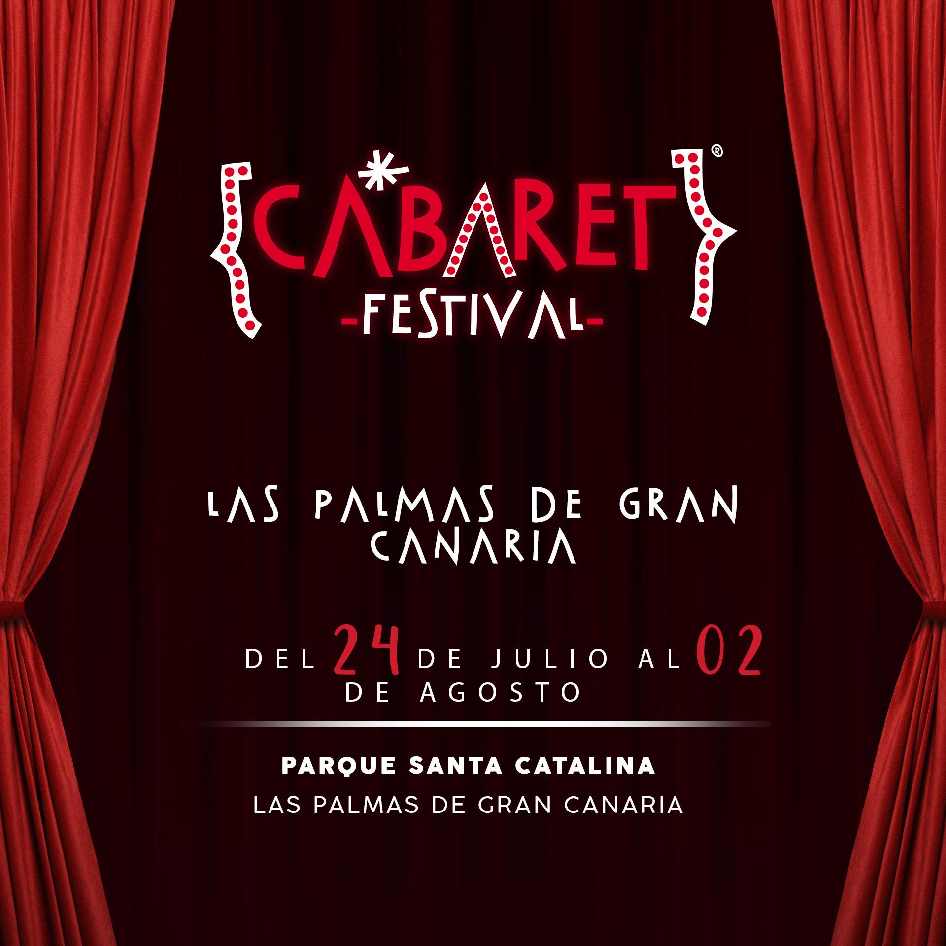 El ciclo de música y humor Cabaret Festival anuncia su llegada a Las Palmas de Gran Canaria este verano