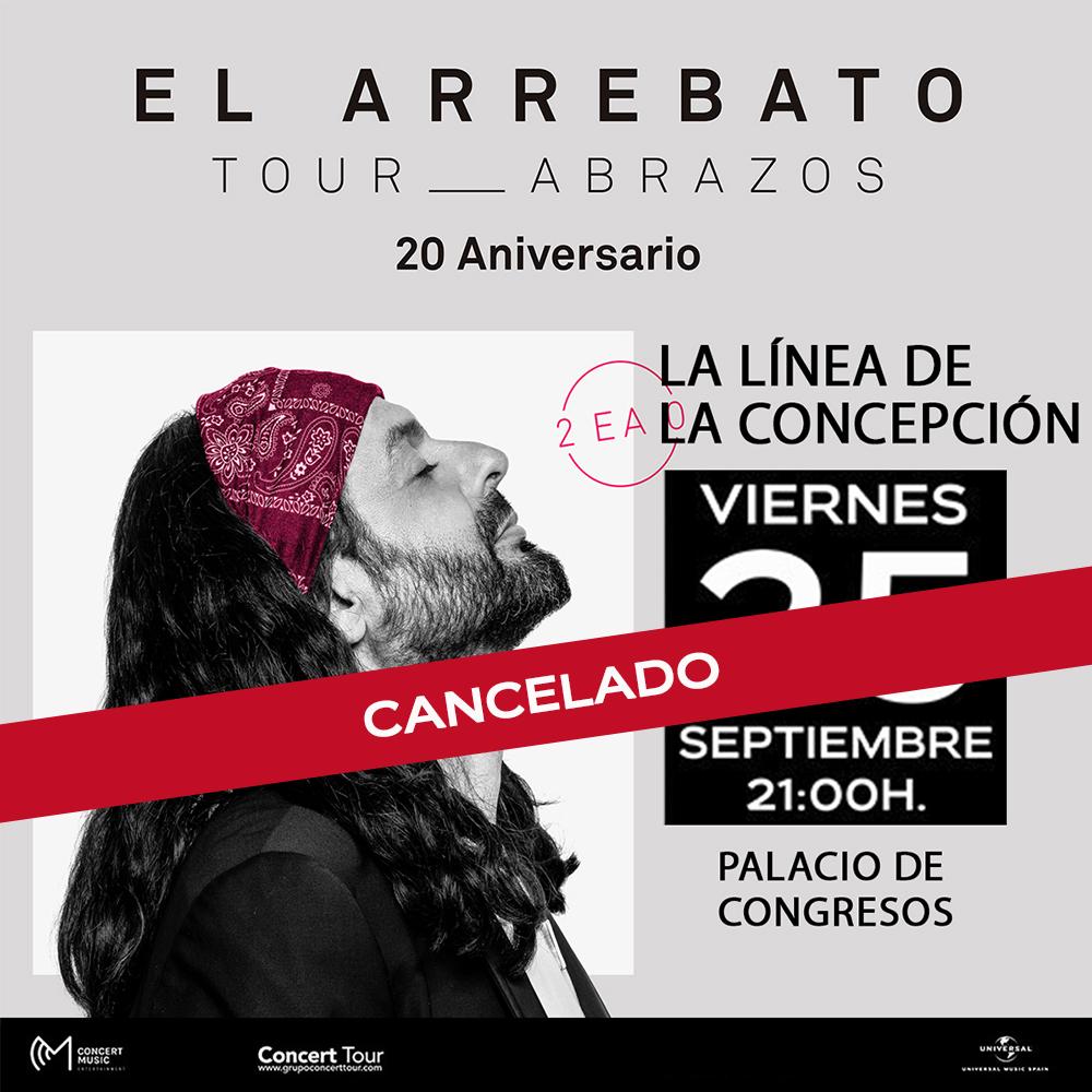 Cancelado el concierto de El Arrebato previsto para el 25 de septiembre en La Línea de la Concepción