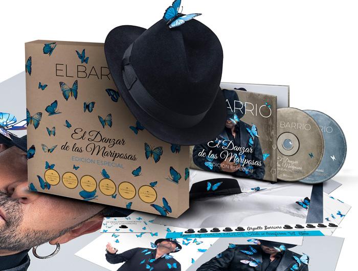El Barrio presenta la Edición Especial de su disco El Danzar de las Mariposas